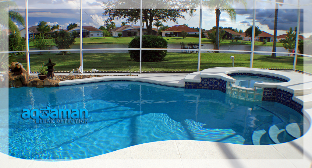 how to find a leak in a swimming pool